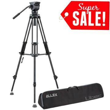 harga Libec Alex Kit Video Tripod Professional Tokopedia.com