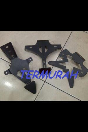 harga Dudukan plat r15 model r6 r1 ermax  dudukan plat nomor r15  fender Tokopedia.com