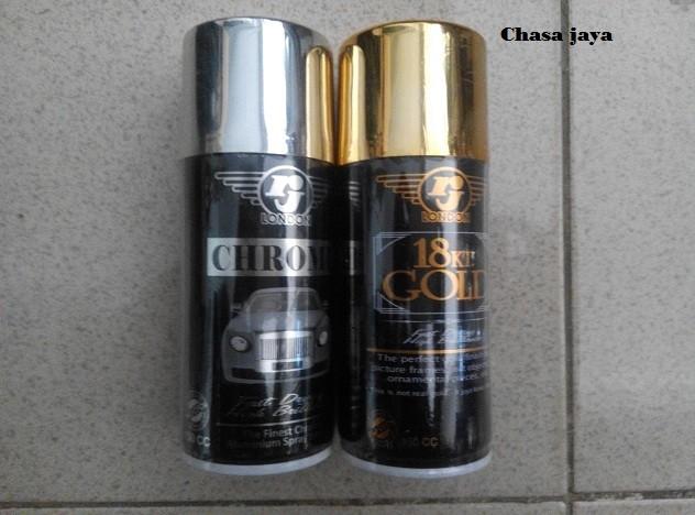 harga Spray paint/aerosol paint/cat semprot rj chrome150cc Tokopedia.com