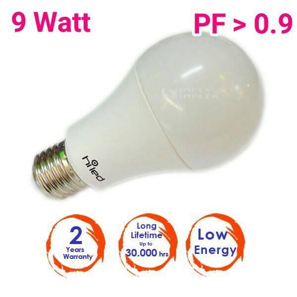 harga Hiled bulb/bohlam 9watt white e27 (blue series) Tokopedia.com