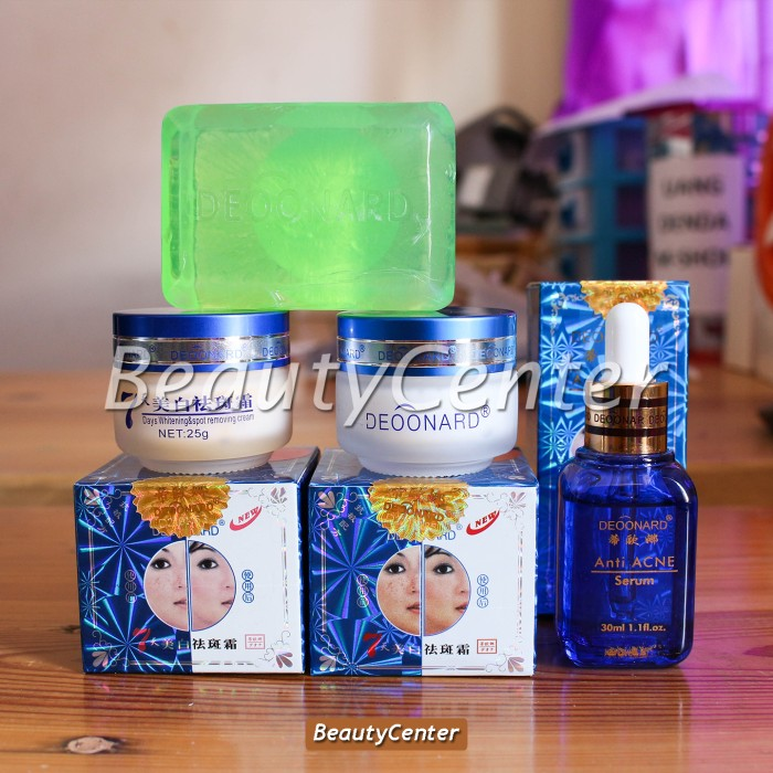 ... 20gr Original(Cream,Sabun Hijau . Source · Paket Komplit Antiseptic Deoonard Biru / Blue 25gr (Cream,Sabun,Serum)