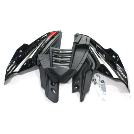 harga Tutup mesin mega pro new hitam aksesoris body motor grosir murah Tokopedia.com