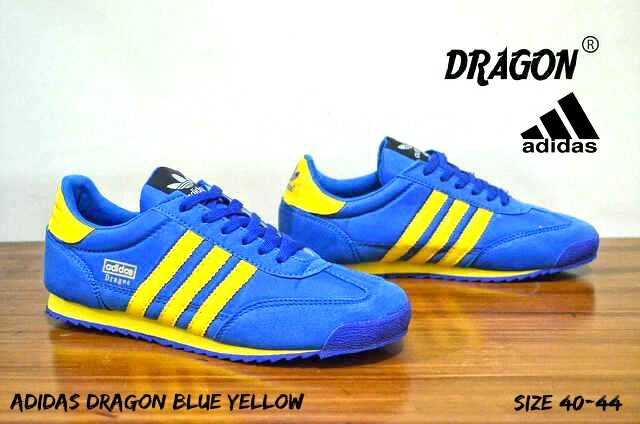 Jual Adidas Dragon Blue Yellow - Kota