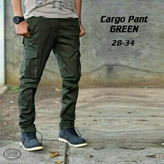 harga Celana cargo pants green / pdl hijau armi Tokopedia.com