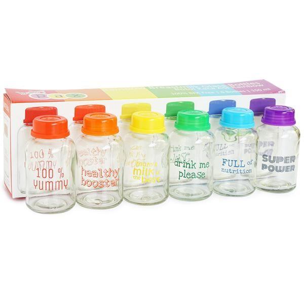 Baby pax rainbow botol kaca asi 150 ml