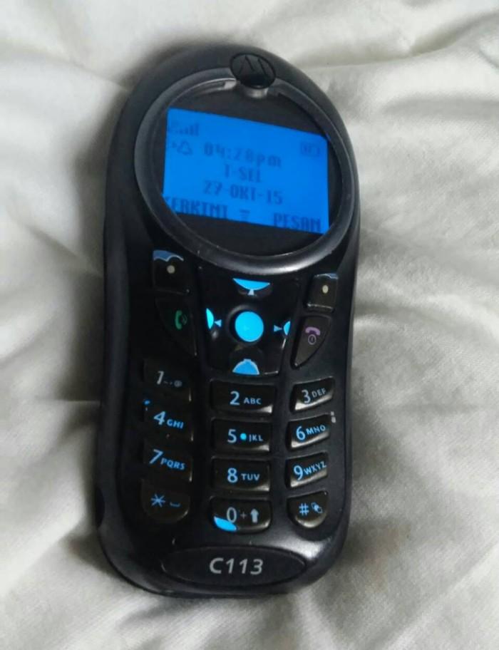 Jual Motorola C113 Handphone Jadul Hp Unik Keren Hape Akik