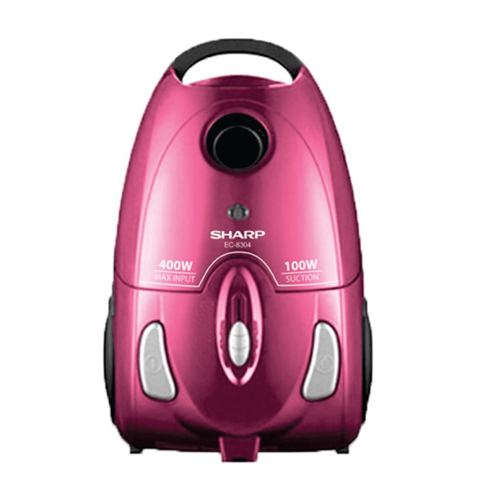 SHARP EC 8305 P PINK Vacuum Cleaner | Low Watt Penghisap Debu EC8305