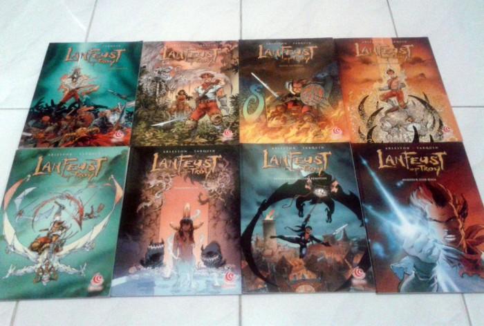 harga Komik lanfeust of troy 1-8 (tamat) level comics (arleston - tarquin) Tokopedia.com