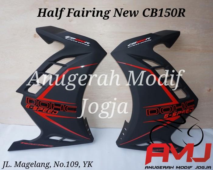 harga Half fairing new cb150r terbaru hitam Tokopedia.com