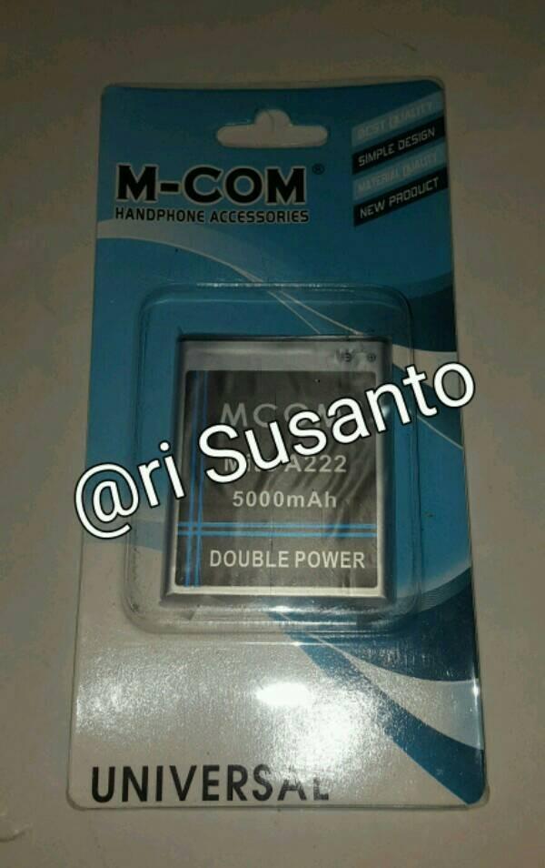 Baterai M-com For Mito A222 Double Power 5000mah