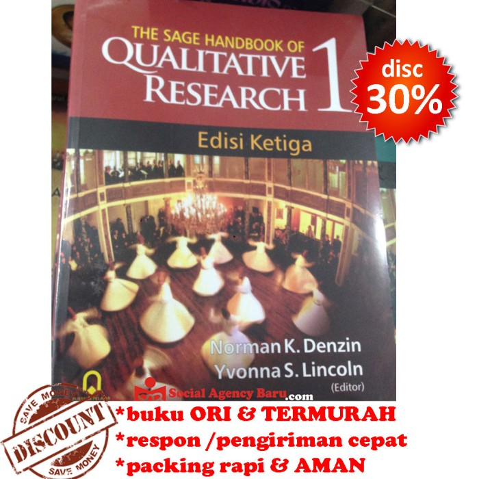 harga The sage handbook of qualitative research 1 - norman k. denzin Tokopedia.com