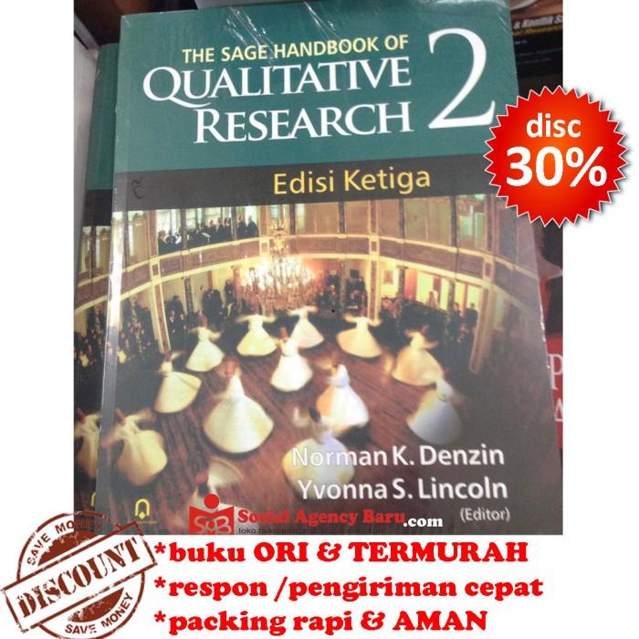 harga The sage handbook of qualitative research 2 - norman k. denzin Tokopedia.com
