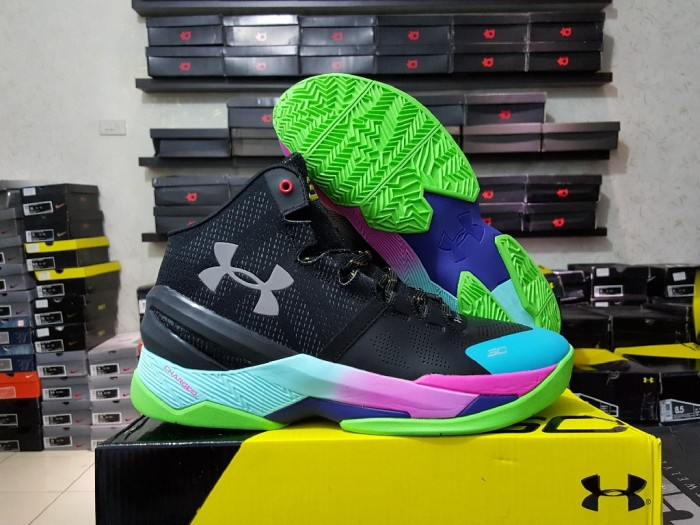 harga Sepatu basket under armour curry 2 black rainbow(grade ori  replika  im Tokopedia c3b15c1d19
