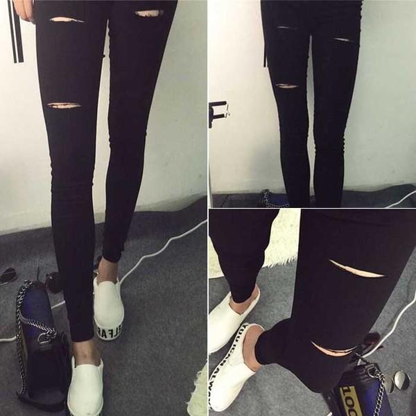harga Jegging kotak celana semi jeans pakaian fashion korea wanita bawahan Tokopedia.com