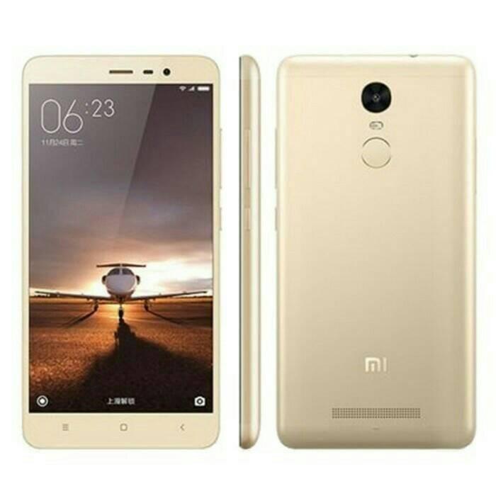 harga Xiaomi redmi note 3 pro 3gb/32gb gold snapdragon 650 16mp 4g lte Tokopedia.com