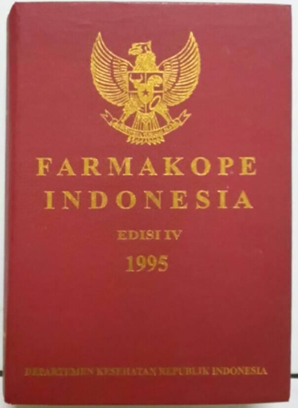 harga Farmakope indonesia ed.iv 1995 Tokopedia.com
