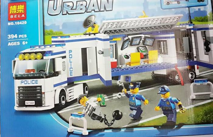 Jual Lego City Police Unit Bela 10420lego Mobil Swat Polisi Kota