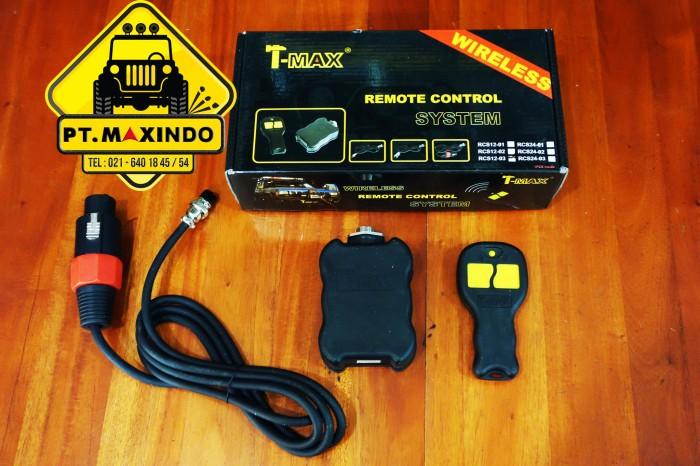 harga T-max wireless remote control untuk t-max electric winch tipe ew & hew Tokopedia.com