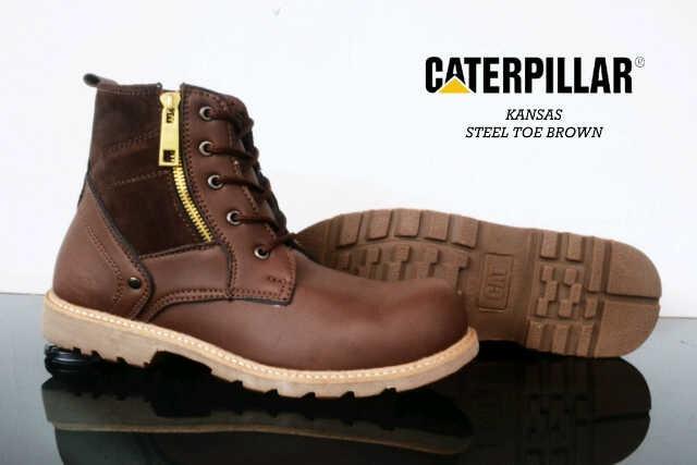 harga Caterpilar safety, sepatu boot pria , steel toe shoes , sepatu murah Tokopedia.com