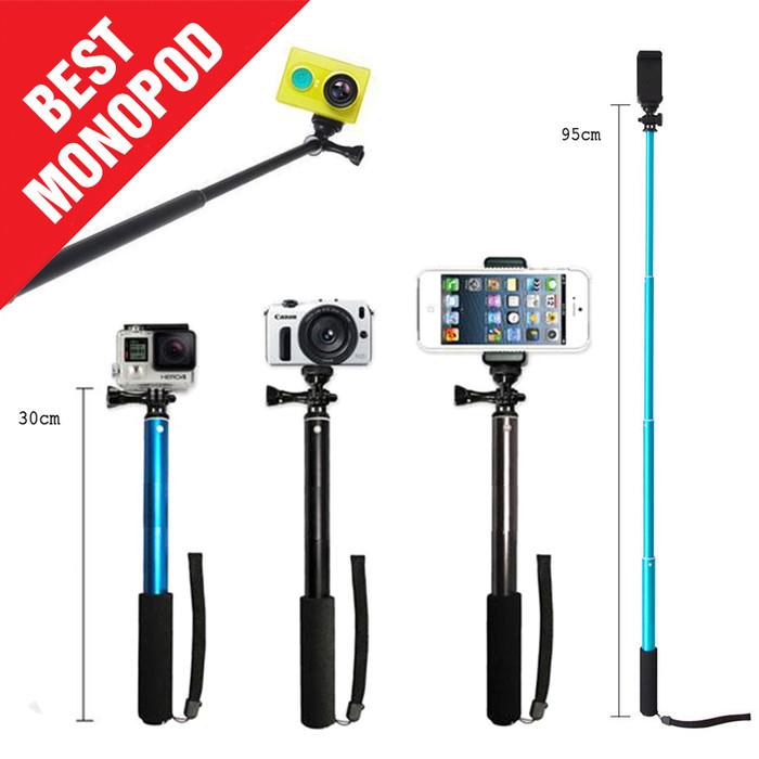 harga Baru! nordic tongsis titanium [monopod] for gopro /xiaoyi /smartphone Tokopedia.com