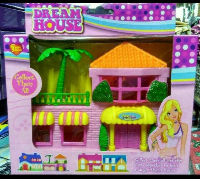 harga Mainan anak dream house barbie mini Tokopedia.com