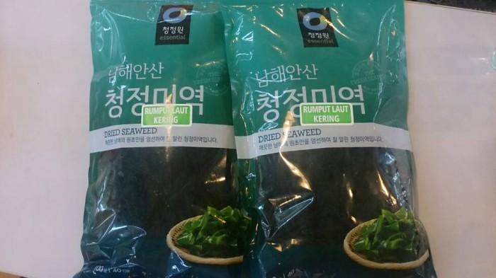 Hasil gambar untuk rumput laut kering korea