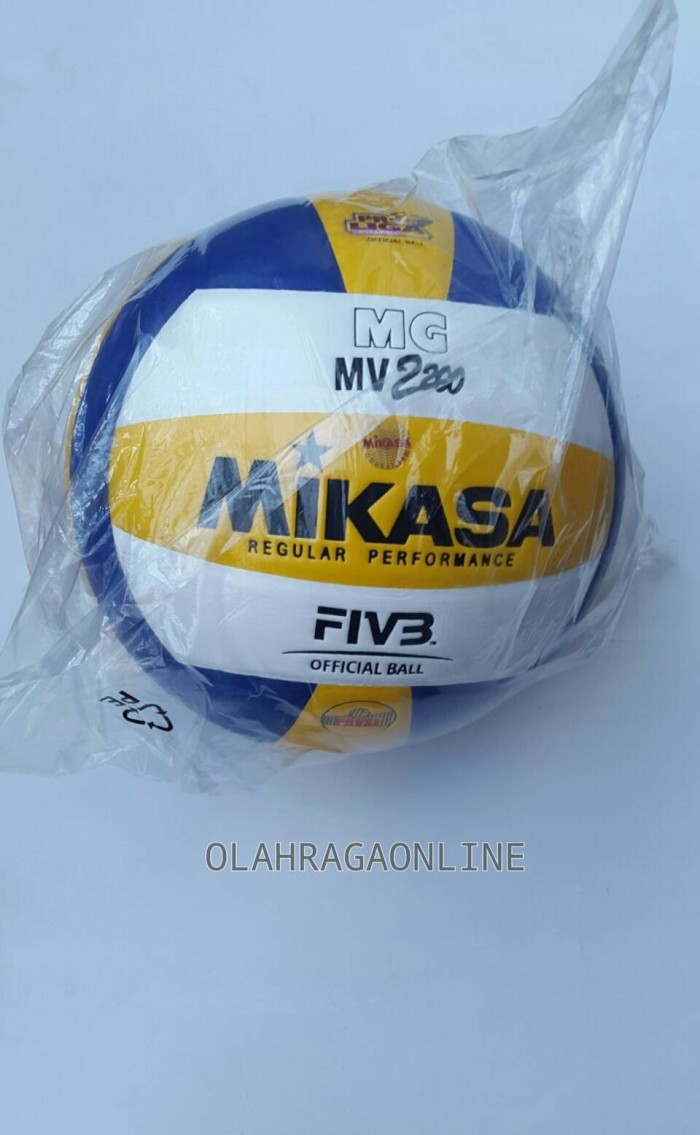 Jual Bola Voli Mikasa Mv 2200 Olahragaonline Tokopedia Net Volley