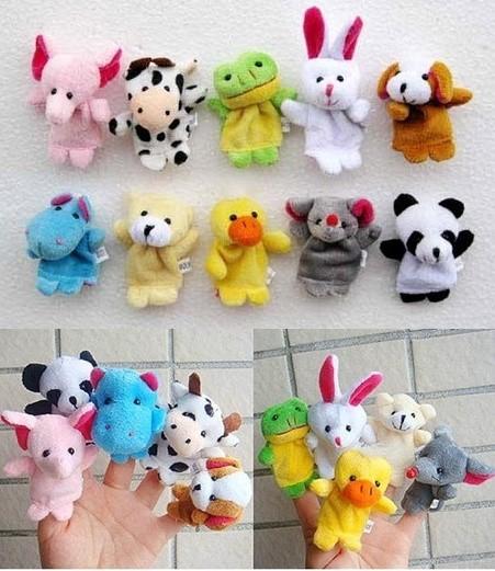 harga 10 pcs boneka jari binatang ( animal finger toy puppet) Tokopedia.com
