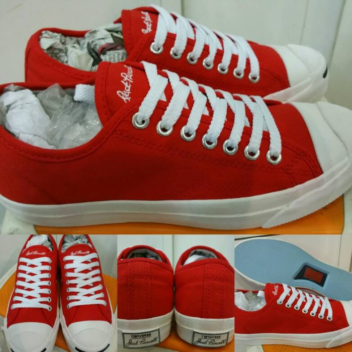 harga Sepatu skate converse all star jack purcell canvas low red Tokopedia.com