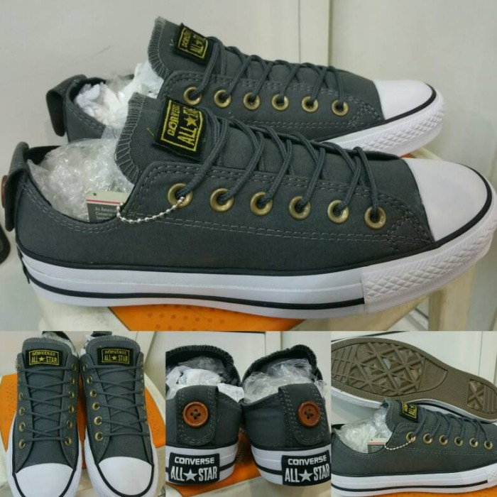 Jual Sepatu Converse All Star Chuck Taylor Button Back Low Canvas ... 394e6f0795