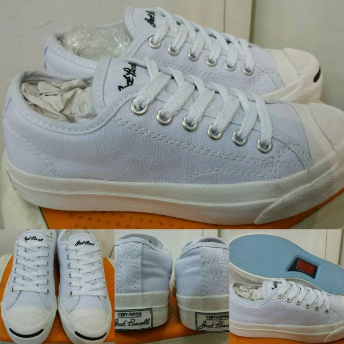 harga Sepatu skate converse all star jack purcell canvas low white Tokopedia.com