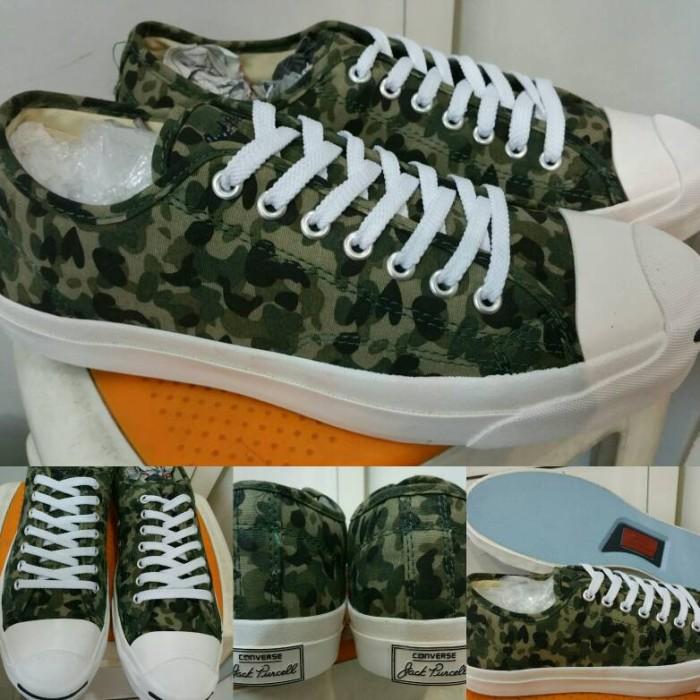 869c0ac51df Jual Sepatu Skate Converse All Star Jack Purcell Canvas Low Camo ...