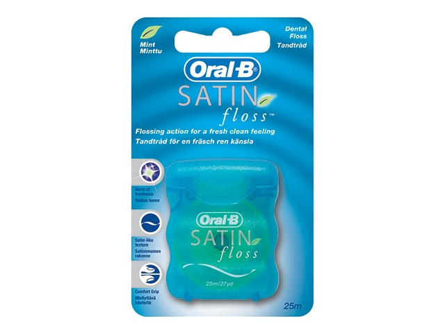 Jual Satin Floss  GROSIR  Benang pembersih gigi Oral B 50 meter ... 6982c88158