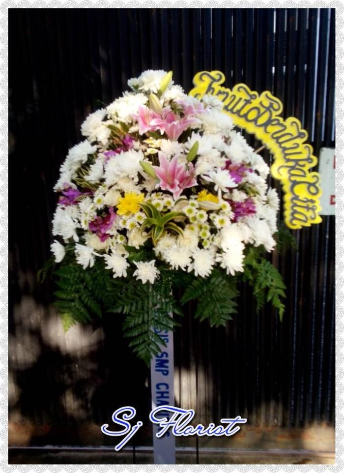 Jual Stand Flower Ucapan Duka Cita Popo Shop Online Tokopedia