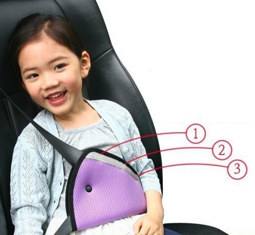 Pengikat / penahan sabuk pengaman mobil untuk anak