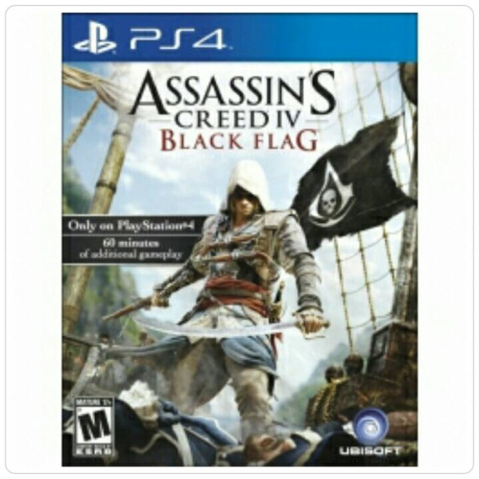 Jual Bd Ps4 Assassins Creed Iv Black Flag New Jakarta Utara Fun Game Shop Tokopedia