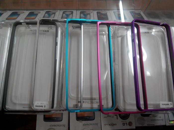Asus Zenfone 5 Alumunium Bumper Bazzel Case Original