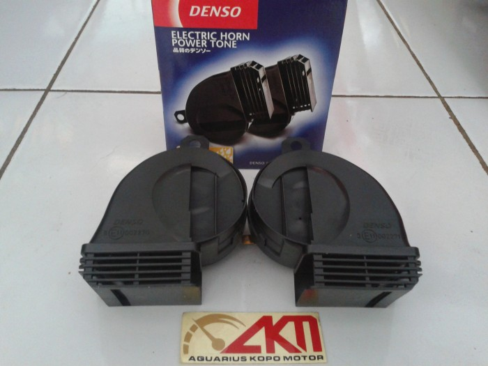 harga Klakson denso keong waterproof stereo horn mobil motor Tokopedia.com