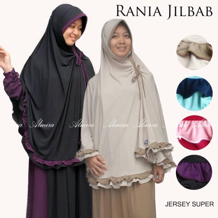 Jilbab kerudung bergo khimar jumbo syari rania