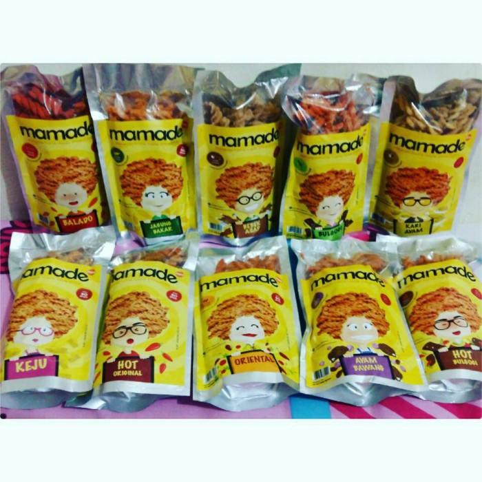Mamade Makaroni Balado Cemilan 160gr Paket 5 Pcs Update Daftar Source · Kripik Makaroni Mamade Full