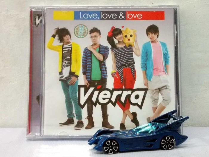 harga Cd vierra - love love love Tokopedia.com