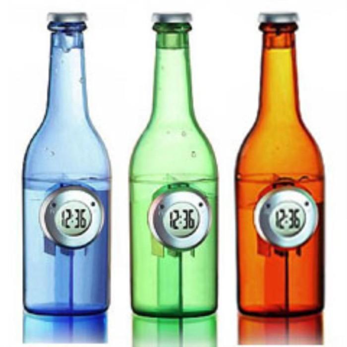harga Jam meja tenaga air - digital water power clock - beer bottle - botol Tokopedia.com
