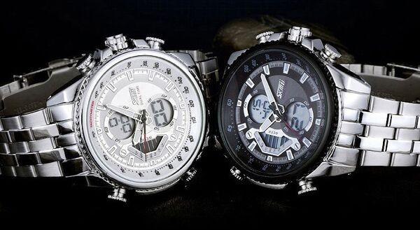 d2027214a07 Jam Tangan Pria SKMEI Casio Men Sport LED Watch Water Resistant 50m