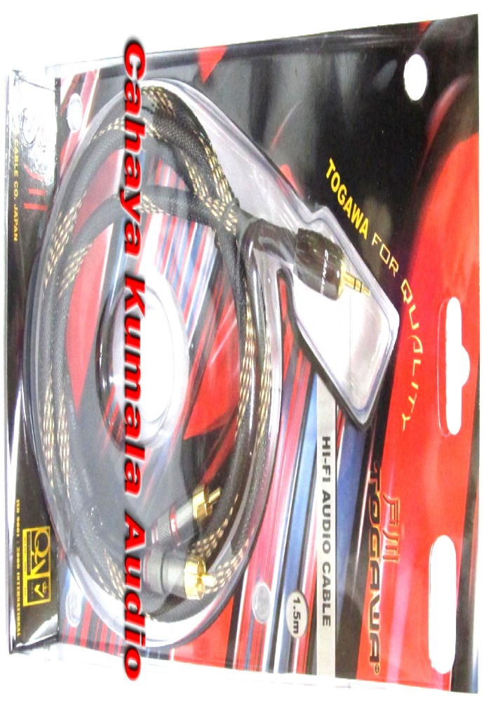 Kabel audio togawa mini stereo - 2 rca (3m)