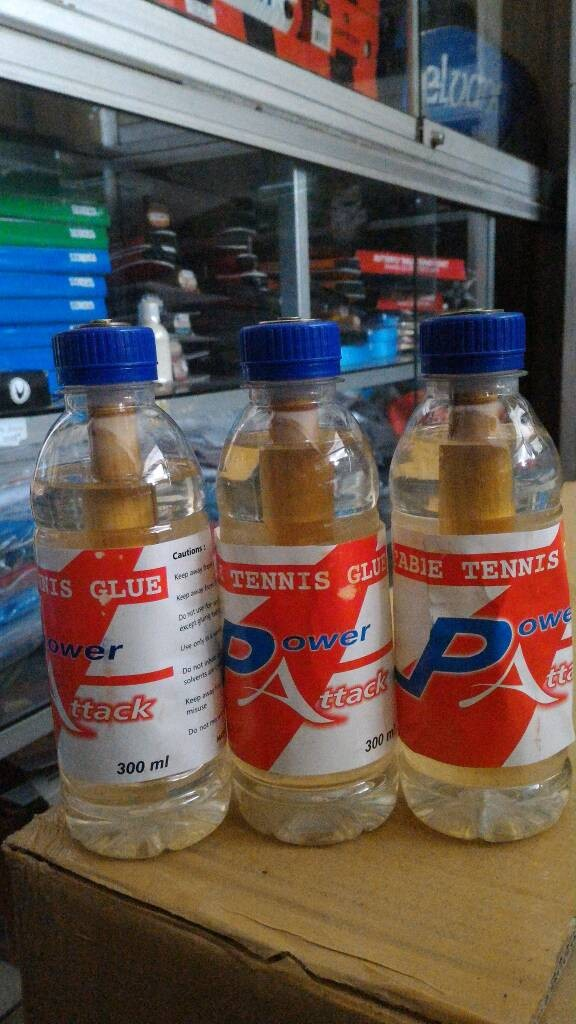 harga Lem bet tenis meja 300 ml power attack Tokopedia.com