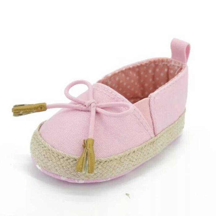 harga Sepatu Prewalker Bayi Perempuan Pink Loafer Tokopedia.com