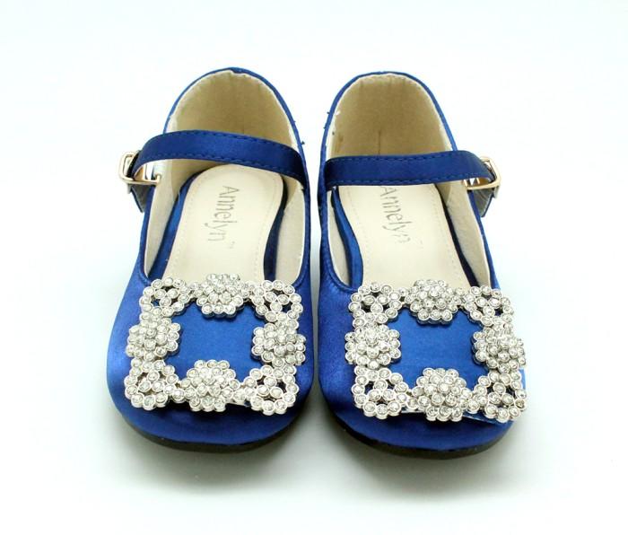 Jual Annelynvi Manolo Sateen Royal Blue Shoes Kota Surabaya Babykidswonderland Tokopedia