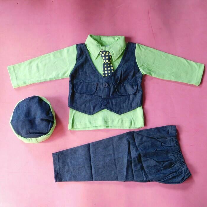harga Baju lebaran/baju koko bayi/baju jas bayi/baju muslim anak Tokopedia.com