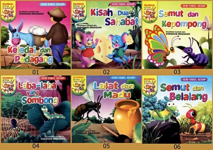 Jual Buku Cerita Anak Bergambar Seri Fabel Aesop 1 River