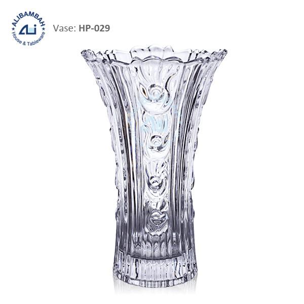 Alibambah Vas Bunga Kaca - ALB-HP029 (28 cm)
